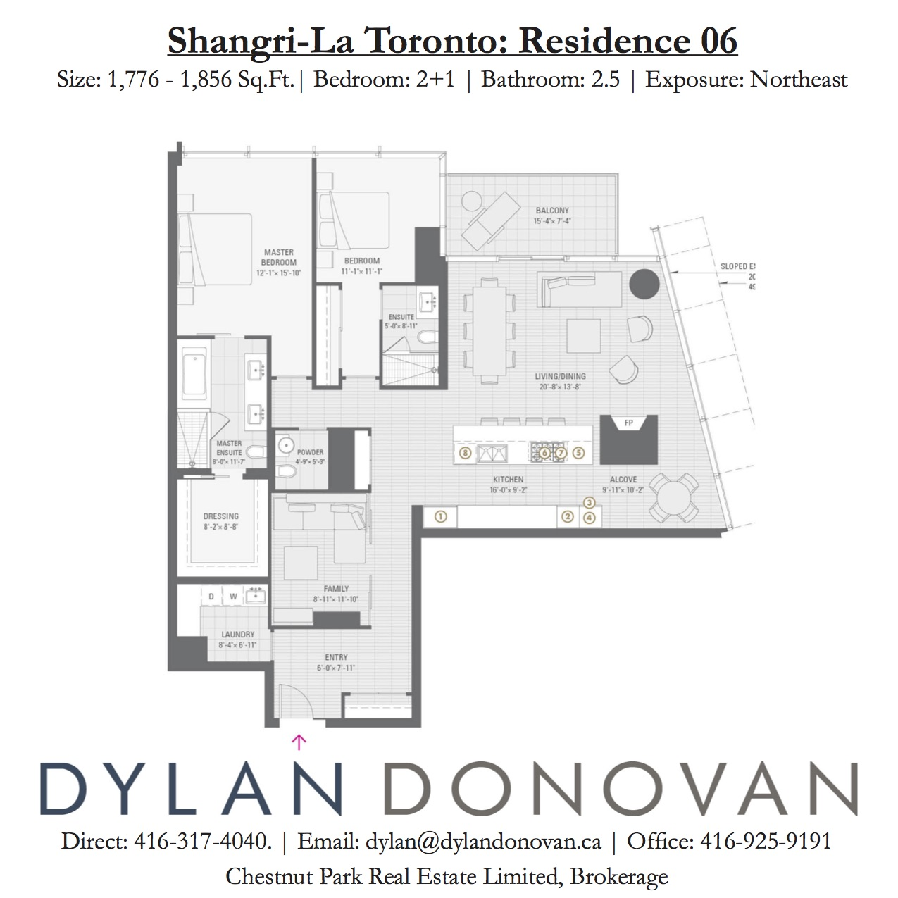 180 University Avenue Suite 4806 Lease Shangri La