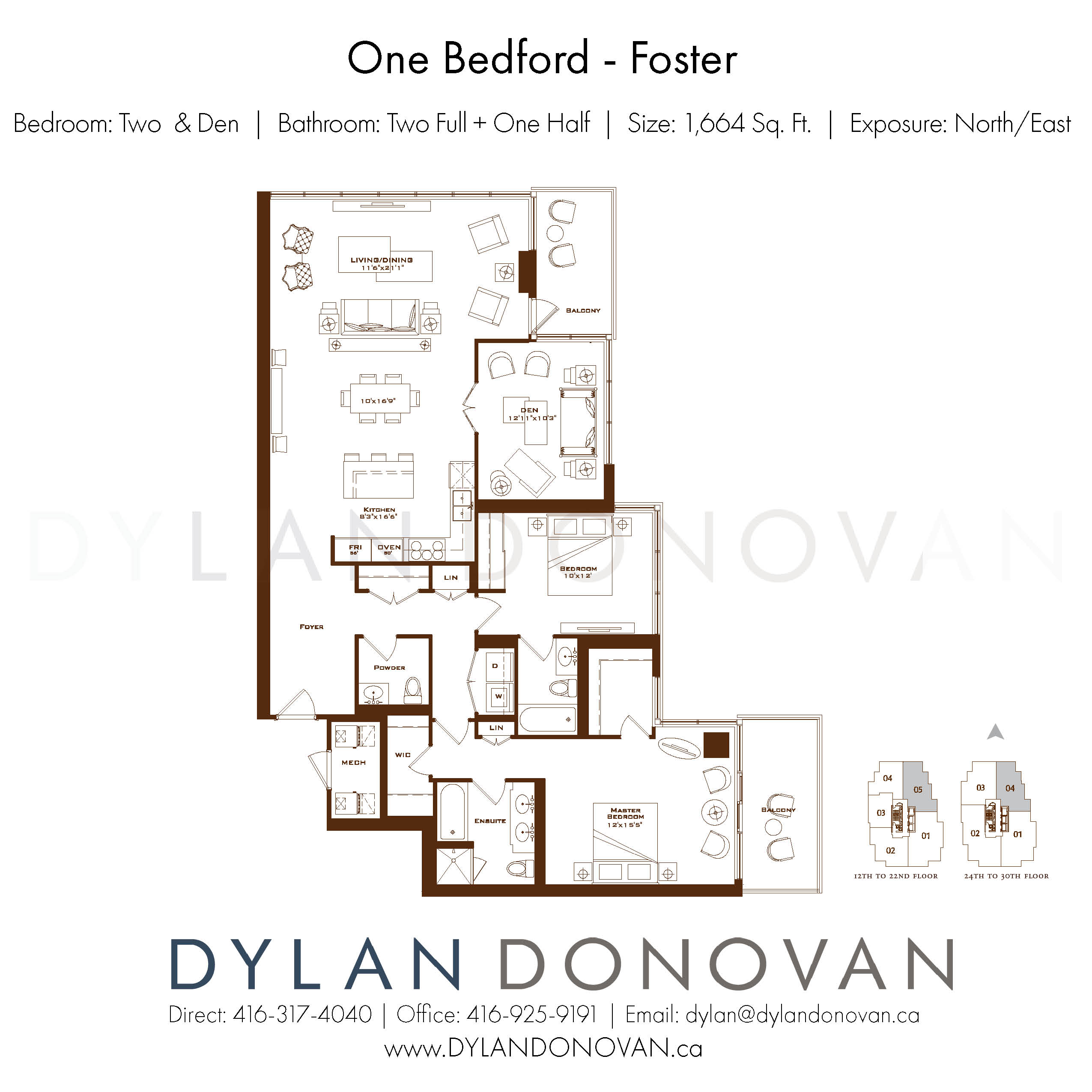 One Bedford Yorkville Luxury Condos For Sale Floor Plans